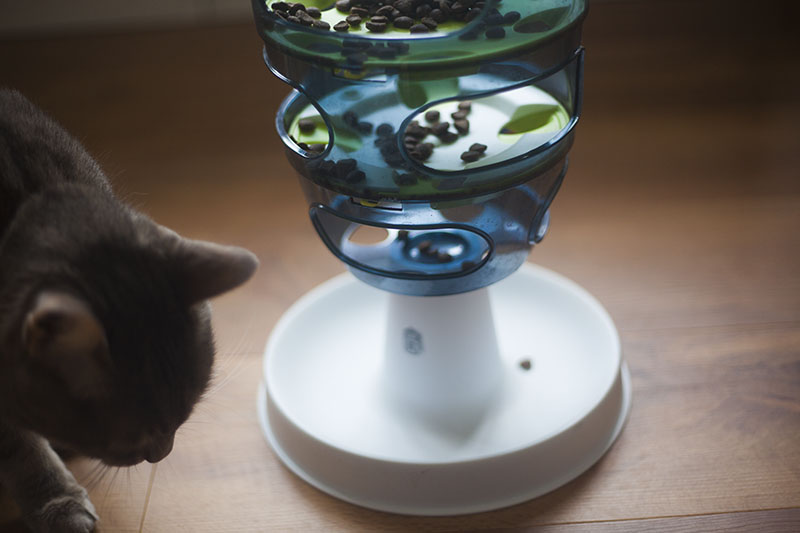 food-maze-review-cat-blog-catit-design-kibble-tree
