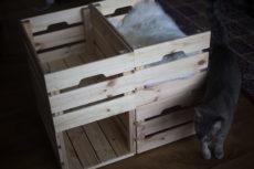 Ikea Knagglig Cat Bed Condo Hack: No Extra Tools & Parts Needed