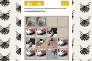 playing-2048-cats-online-addictive-game
