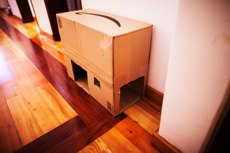 diy-cat-condos-varieties-of-multi-cat-houses-cardboard-box-diy